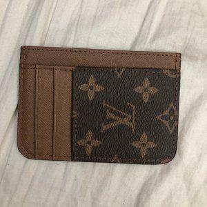 Louis Vuitton Leather Monogram Card Holder